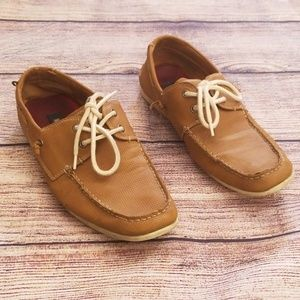 Madden 9.5 brown leather shoes